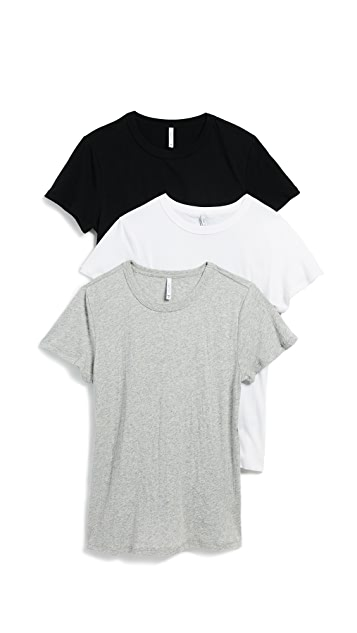 Z Supply Core Crew Tee 3 Pack
