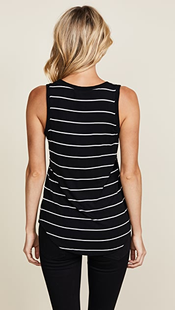 Z Supply The Sleek & Stripe Tank 2 Pack