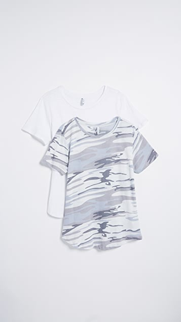 Z Supply The Ultimate Camo Tee 2 Pack