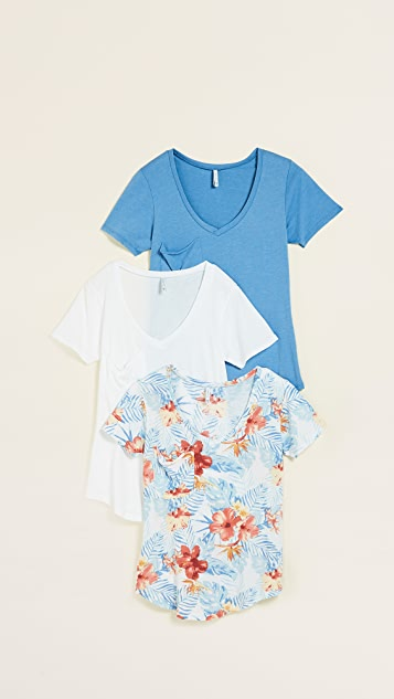 Z Supply The Tropical Pocket Tee 3 Pack