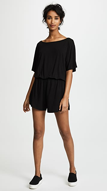 Z Supply The Emi Sleek Jersey Romper