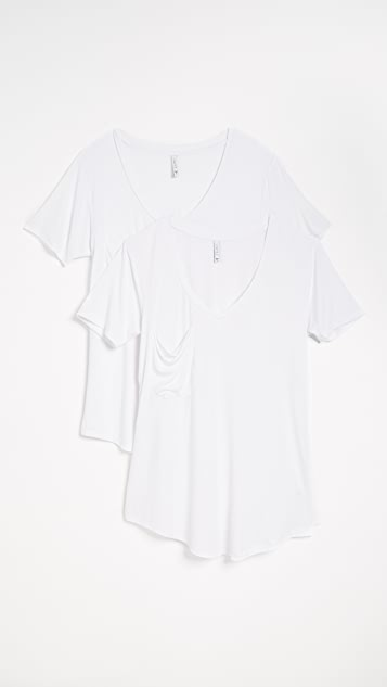 Z Supply Sleek Jersey Tee - 2 Pack