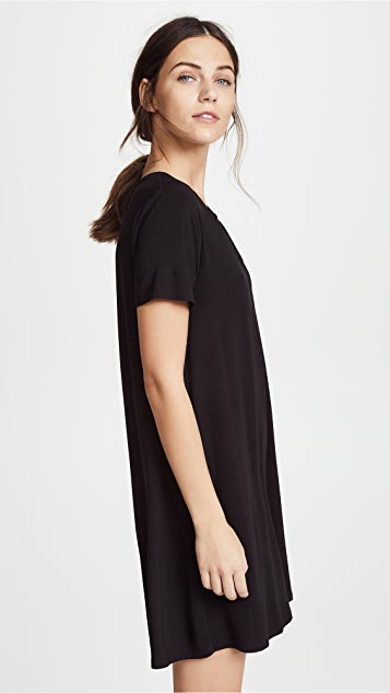 Z Supply The Cross Front Tee Dress