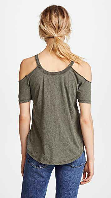 Z Supply Cold Shoulder Tee