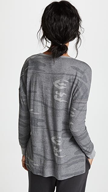 Z Supply The Emerson Camo Thermal Tee