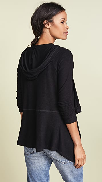 Z Supply The Waterfall Hooded Cardigan