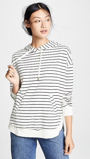 Z Supply Пуловер с капюшоном Dakota в полоску
