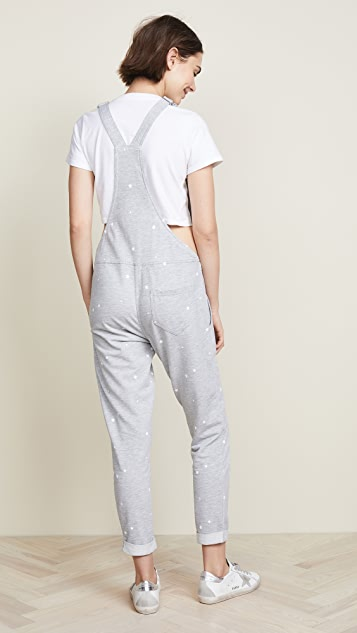 Z Supply Star Print Overalls