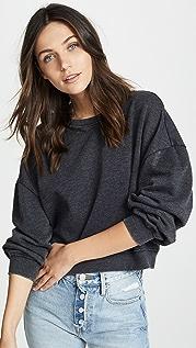 Z Supply Oversized Fleece Pullover