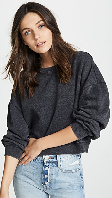 Z Supply Oversized Fleece Pullover
