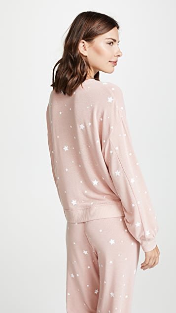 Z Supply Star Print Pull Over