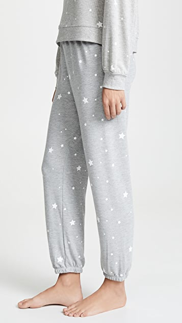 Z Supply Star Print Joggers