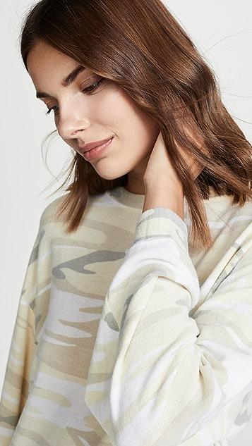 Z Supply Lux Camo Pullover
