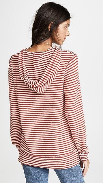 Z Supply Stripe Soft Spun Pullover