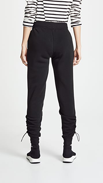 Z Supply Loft Fleece Cinched Ankle Pants