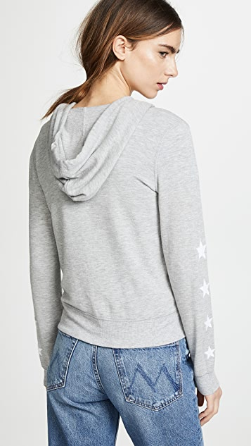 Z Supply Linear Star Hoodie