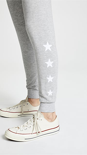 Z Supply The Linear Star Joggers