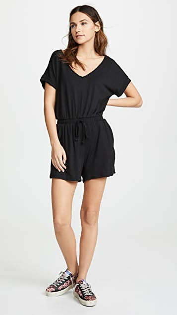 Z Supply Blaire Sleek Jersey Romper