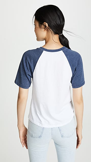 Z Supply Dugout Raglan Tee