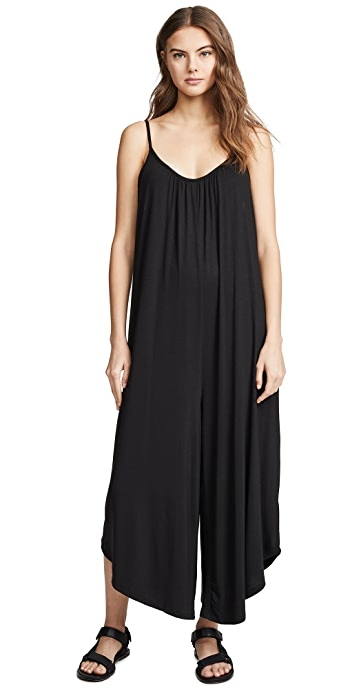 Z Supply The Flared Jumpsuit - Black