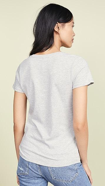 Z Supply 前扭褶 T 恤 2 件装