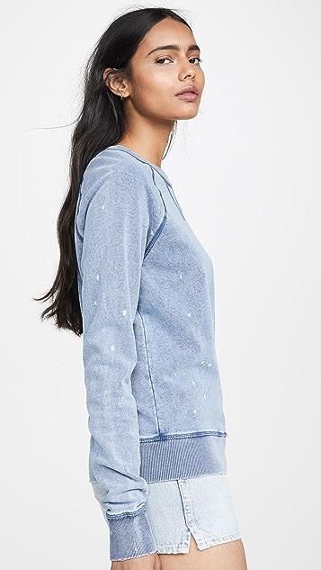 Z Supply Трикотажный пуловер цвета выбеленного денима
