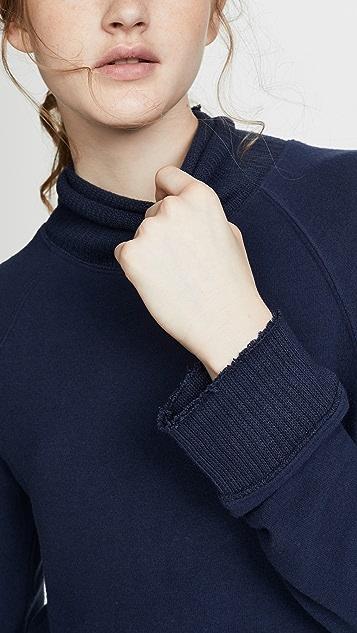 Z Supply 柔软纺织半高领套头衫