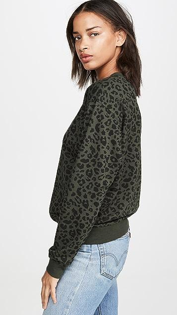 Z Supply 豹纹套头衫