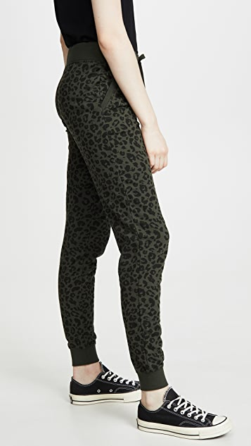 Z Supply The Leopard Joggers
