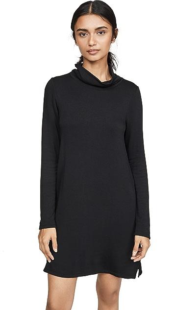 Z Supply Платье с воротником под горло из высококачественного флиса