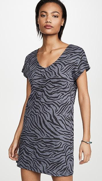 Z Supply The Zebra Tee Dress
