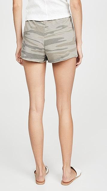 Z Supply The Camo Shorts