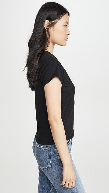 Z Supply 时尚圆领 T 恤