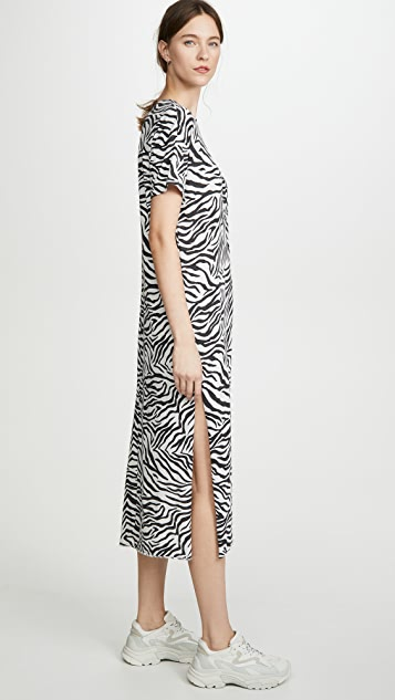 Z Supply Zebra Side Knot Dress