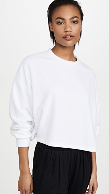 Z Supply Summer Fleece Crew Sweatshirt