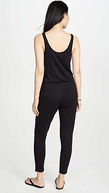 Z Supply Button Front Jumpsuit