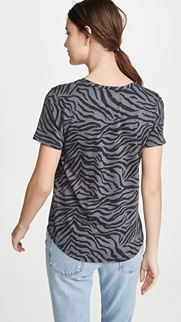 Z Supply Zebra Crew Tee