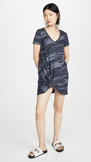 Z Supply Side Knot Camo Dress