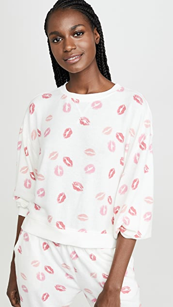 Z Supply The Kissed Pullover Crew