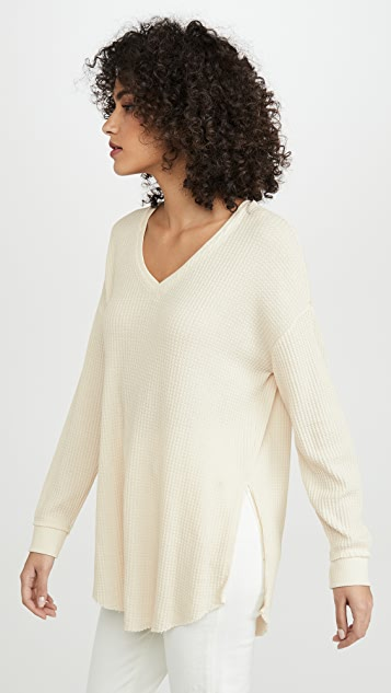 Z Supply Waffle Thermal Pullover