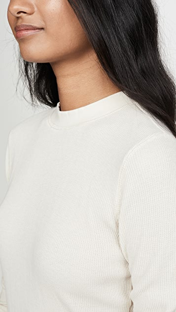 Z Supply Thermal Long Sleeve Dress