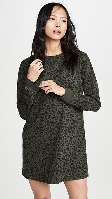 Z Supply Цельнокроеное леопардовое платье