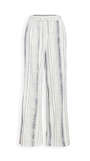 Z Supply Hana Stripe Beach Pants