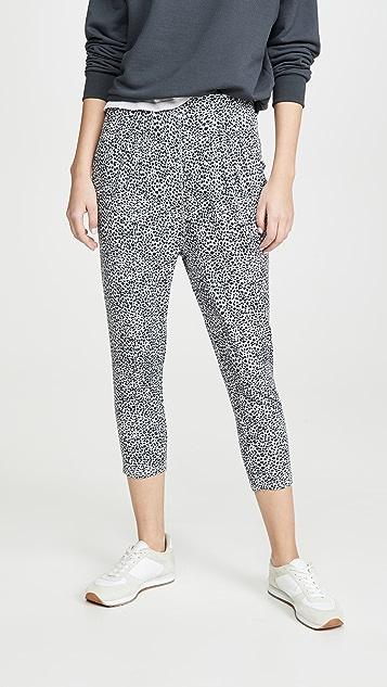 Z Supply 豹纹窄脚裤