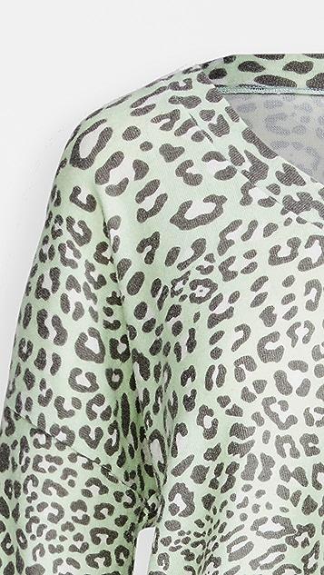 Z Supply Lyra 豹纹上衣