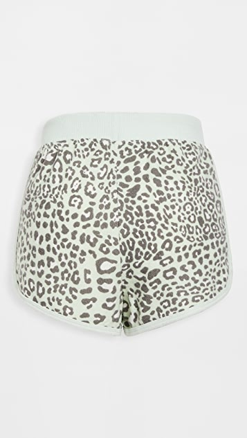 Z Supply Lido Leopard Shorts
