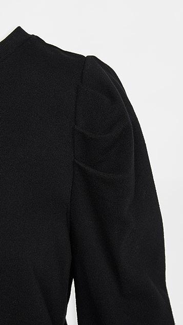 Z Supply 泡泡袖运动衫连衣裙