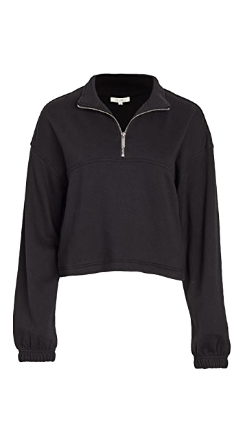Z Supply Half Zip Sweatshirt