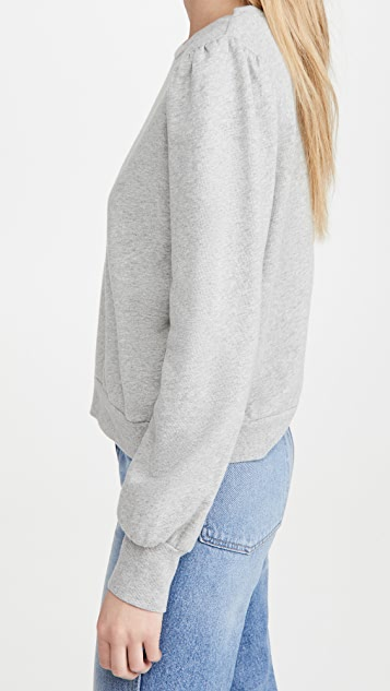 Z Supply Zoe Puff Sleeve Sweatshirt
