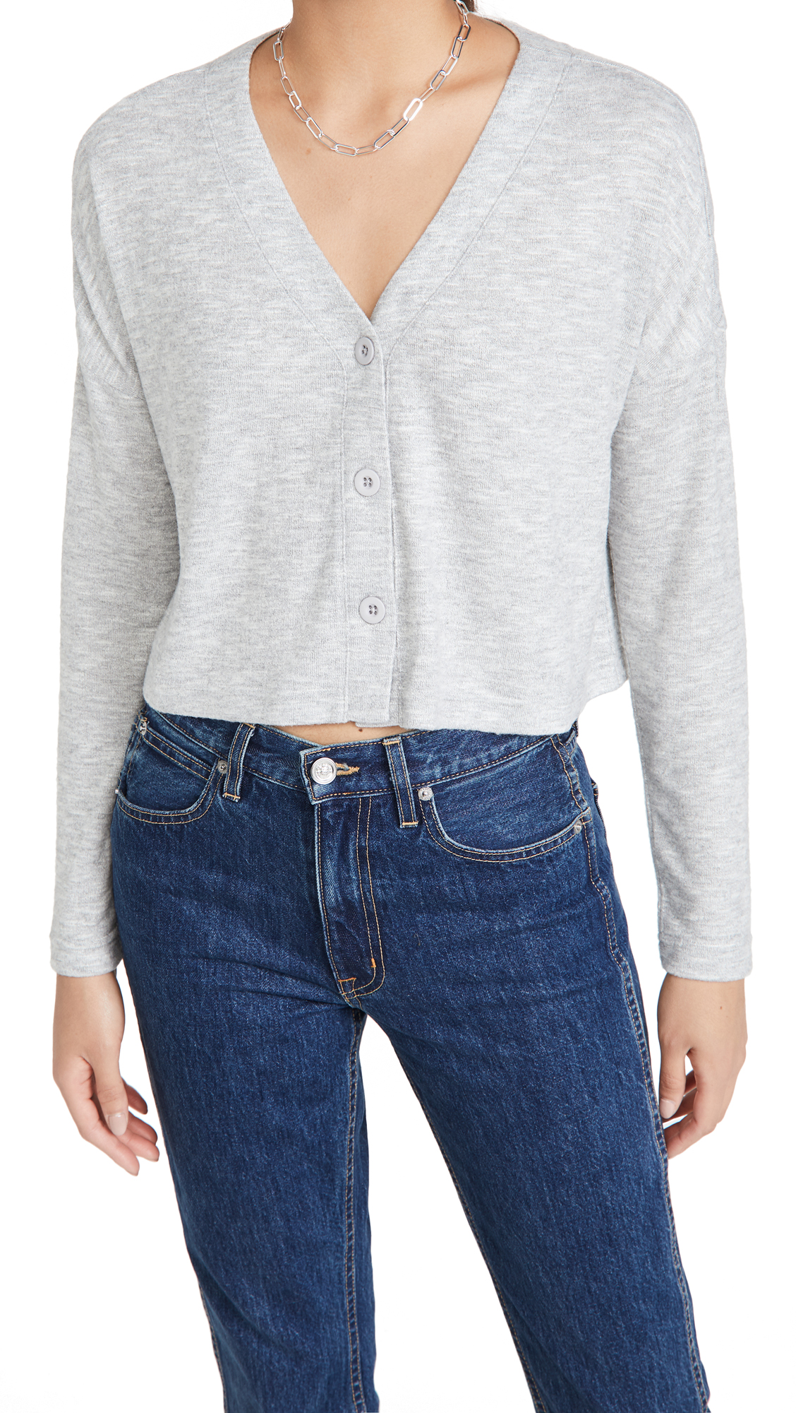 Z Supply Cher Slub Cardigan Top